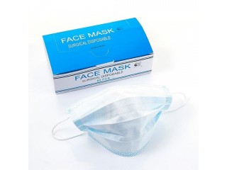 Disposable PP Non Woven 3ply Medical Surgical Face Mask