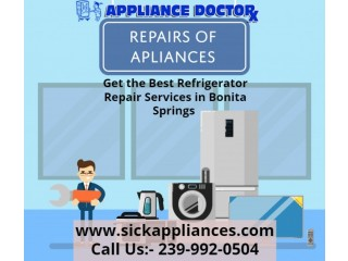 Get the Best Refrigerator Repair Services in Bonita Springs