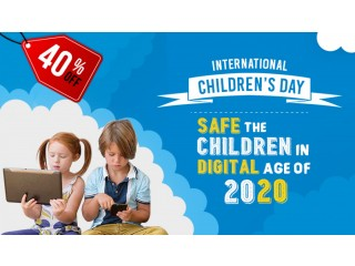 International children's Day: Safe the children in digital age of 2020