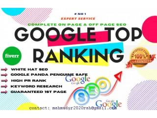 Google Top Ranking Service