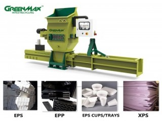 Hot sale GREENMAX Styrofoam compactor