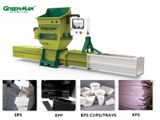 Hot sale GREENMAX machine for PE foam recycling