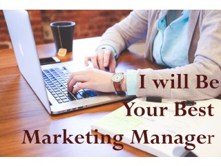 I will be Your Best Digital Marketing Manager
