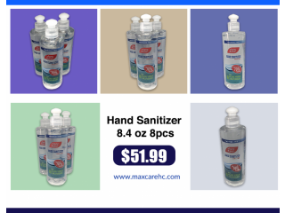 Hand Sanitizer 8.4 oz 8pcs