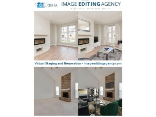 Virtual Staging and Renovation Image Editing Services
