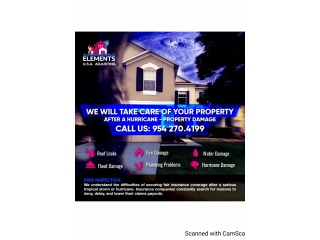 Any problem in your property we can help.