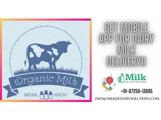 Dairy Products Delivery App