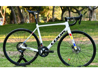 New Carbon Road Look 785 HUEZ DISC PROTEAM WHITE GLOSSY 2020 Model Size M