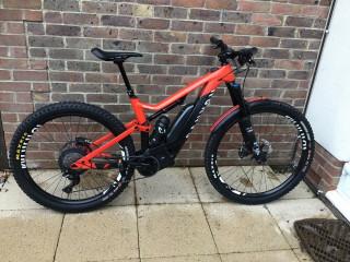 2019 Canyon SpectralOn 7 Electric Mountain Bike - Size M - Mint plus extras