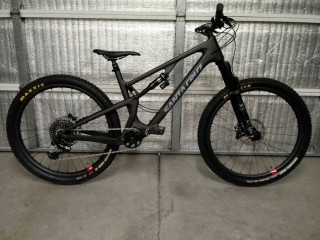 2019 SANTA CRUZ 5010cc X01 LARGE with 27.5 CARBON RESERVE WHEELS