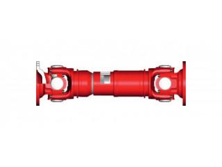 Propeller shaft in automobile