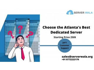 Buy Now Atlantas Affordable and Full Reliable Dedicated Server
