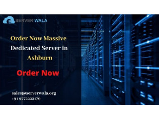 Order Now Massive Dedicated Server in Ashburn at Low Cost