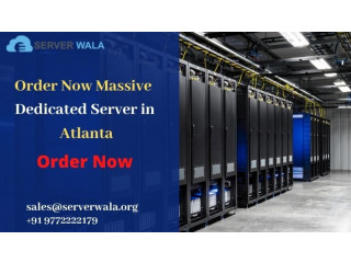 Get the High Performance and Secure Dedicated Server in Atlanta