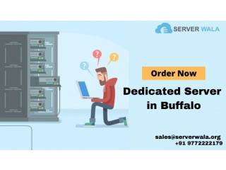 Order Fastest Buffalo Dedicated Server and Increase Site Traffic