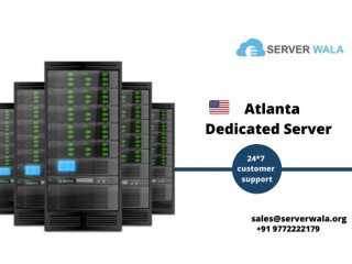 Order Now Dedicated Server in Atlanta with Maximum Uptime