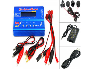 IMAX B6 LCD Lipo LiFe NiMh NiCD RC Balance Battery Charger Discharger AC Adapter