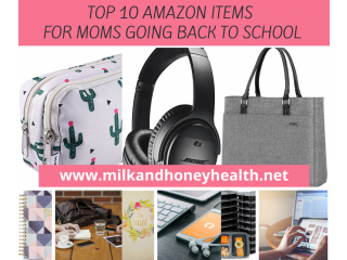 Top 10 Amazon Items for Moms Going Back to School