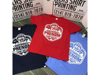 Dallas Shirt Printing | Screen Printing