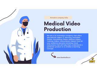 Animation Production Company in India | Medical Video Production