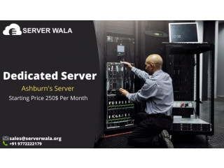 Order Now Ashburn Dedicated Server with Discount on Serverwala