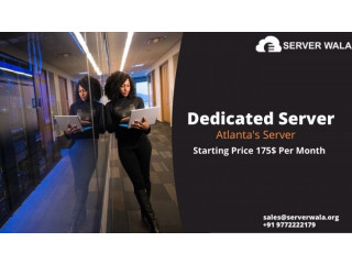 Buy Now Affordable Atlanta Dedicated Server at Cheap Price on Serverwala