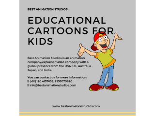 Educational Videos Production | Kids Learning Videos | Top Animation Studio in India