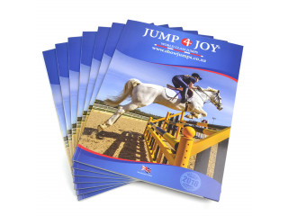 High-quality catalog printing service at low price