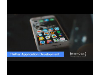 Flutter App Development Company in USA | thirstyDevs Infotech