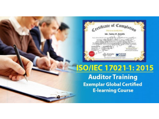 ISO 17021:2015 Internal Auditor Training - Certified