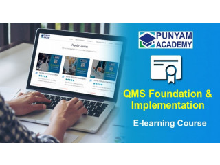 Online QMS Foundation and Implementation Training