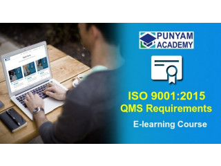 Online ISO 9001:2015 REQUIREMENTS TRAINING COURSE