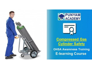 Online Learn About Compressed Gas Cylinder Safety Training