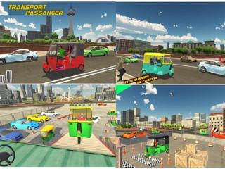 Tuk Auto Rickshaw Parking Game