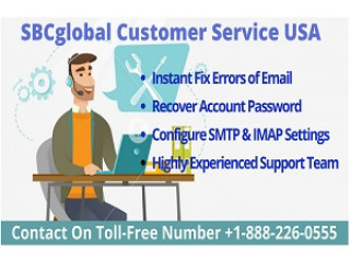 Get Help For Email Issues From SBCglobal Customer Service Number +1-888-226-0555