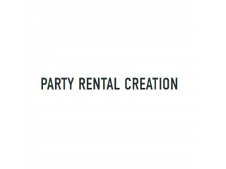 Party Rental Creation