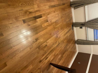 Carpet and padding (vinyl plank hard wood installation)