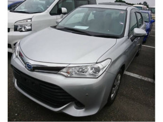 Toyota Axio X Hybrid 2016 Silver Color