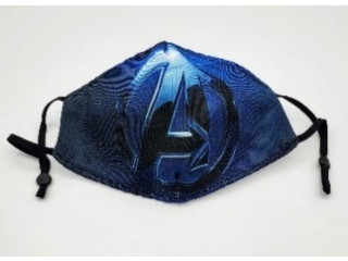 Animated Comic Avengers Style Face Masks in Sheridan, US