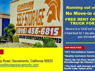 Self-Storage and Warehouse for Rent - No Move-in deposit!