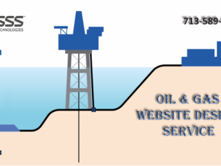 Oil and Gas Website Design Houston