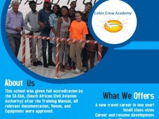 Get Flight attendant training at Cabin Crew Academy
