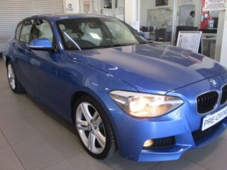BMW 1 Series 118i 5 door M Sport auto 2014