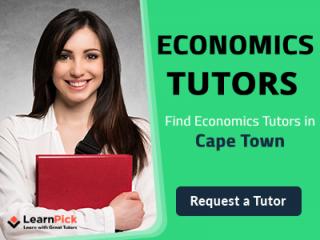 Find The Best Economics Tutors in Cape Town