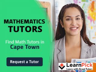 Mathematics Tutors in Cape Town