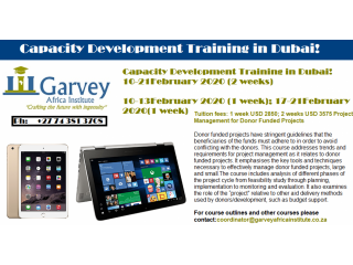 Capacity Development Training in Dubai!